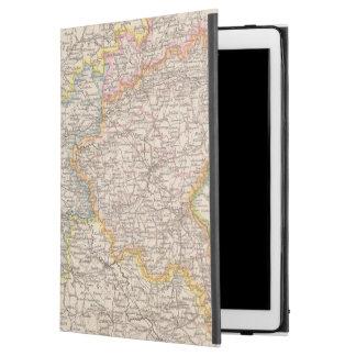 Brandeburgo, mapa del atlas de Posen