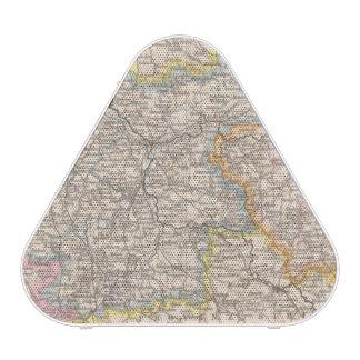 Brandeburgo, mapa del atlas de Posen Altavoz