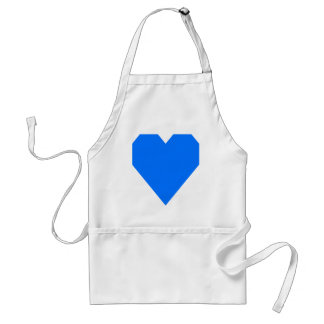 Brandeis Blue.png Adult Apron