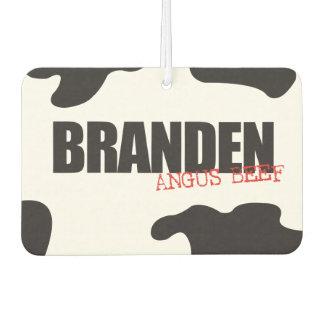 "Branden ""Angus Beef"" Trendy Air Freshener"