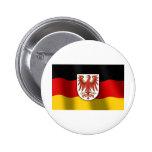 Brandenburg coat of arms pinback button