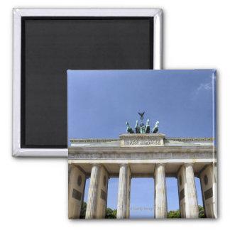 Brandenburg Gate, Berlin, Germany 2 Inch Square Magnet