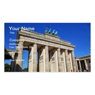 Brandenburg Gate, Berlin, Germany Business Card Templates