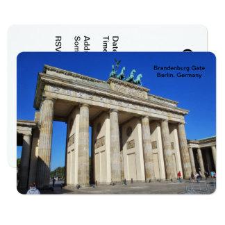 Brandenburg Gate, Berlin, Germany Card