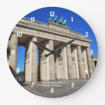 Brandenburg Gate, Berlin, Germany Clock
