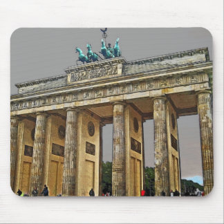 Brandenburg Gate, Berlin, Germany - Full View Mouse Pad