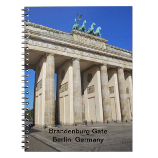 Brandenburg Gate, Berlin, Germany Notebook