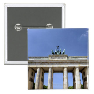 Brandenburg Gate, Berlin, Germany Pinback Button