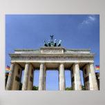 Brandenburg Gate, Berlin, Germany Print