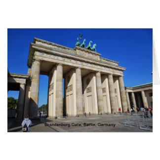 Brandenburg Gate, Berlin, Germany Stationery Note Card