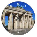 Brandenburg Gate, Berlin, Germany Wall Clock