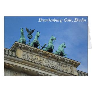 Brandenburg Gate, Berlin Greeting Card