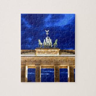 Brandenburg Gate, Berlin Jigsaw Puzzle