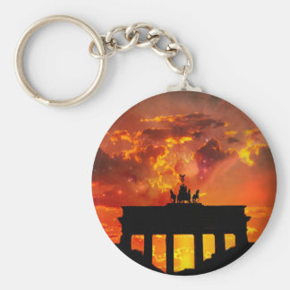 Brandenburg Gate, Berlin Keychain