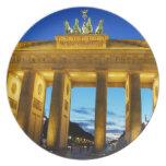 Brandenburg Gate, Berlin Melamine Plate