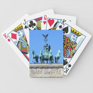 Brandenburg Gate, Berlin Poker Deck
