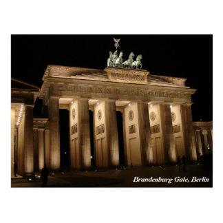 Brandenburg Gate, Berlin Postcard