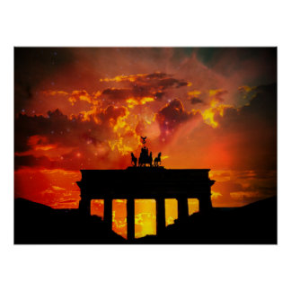 Brandenburg Gate, Berlin Poster