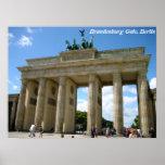 Brandenburg Gate, Berlin Print
