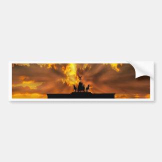 Brandenburg Gate Bumper Sticker