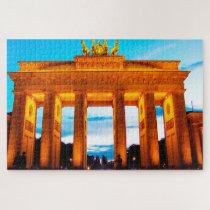 Brandenburg Gate Germany. Jigsaw Puzzle
