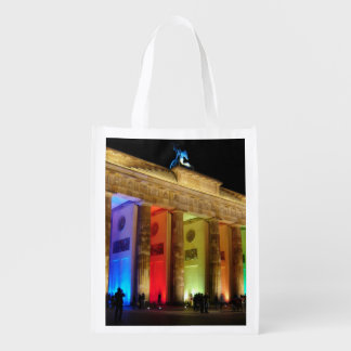 Brandenburg Gate Germany Reusable Grocery Bags