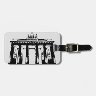 Brandenburg Gate in Berlin Bag Tag