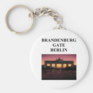 brandenburg gate keychain