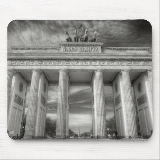 Brandenburg Gate Monochrome image Mouse Pad