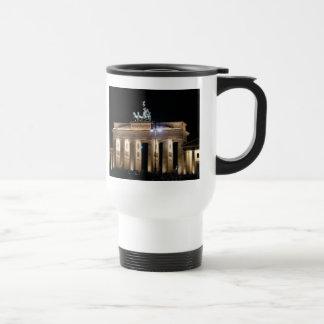 brandenburg gate 15 oz stainless steel travel mug