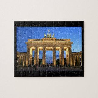 brandenburg gate night jigsaw puzzle