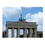Brandenburg Gate Postcard