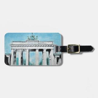 Brandenburg Gate Sketch Bag Tag
