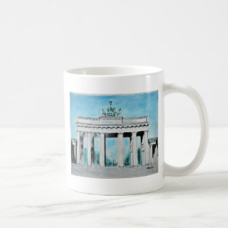 Brandenburg Gate Sketch Coffee Mug