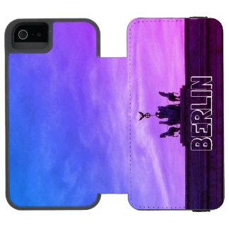 Brandenburg Gate sunset 001.04.1, Berlin iPhone SE/5/5s Wallet Case