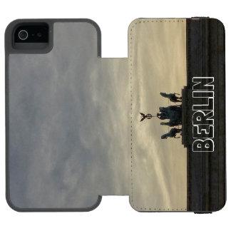 Brandenburg Gate sunset 001.04, Berlin Wallet Case For iPhone SE/5/5s