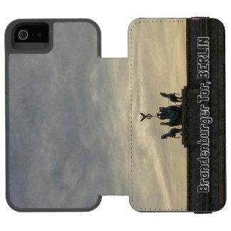 Brandenburg Gate sunset 001.05, Berlin iPhone SE/5/5s Wallet Case