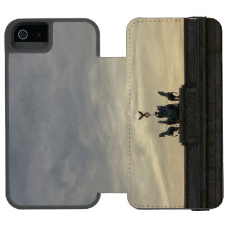 Brandenburg Gate sunset, Berlin iPhone SE/5/5s Wallet Case