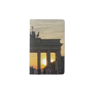 Brandenburg Gate sunset, Berlin Pocket Moleskine Notebook