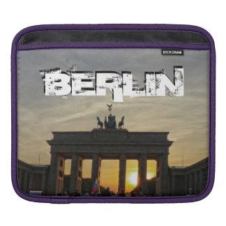 Brandenburg Gate, sunset, BERLIN Sleeve For iPads