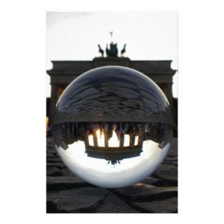 Brandenburg Gate sunset, Berlin Stationery