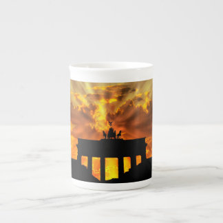 Brandenburger Gate at sunset, Berlin Tea Cup