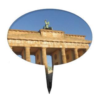 Brandenburger gate cake topper