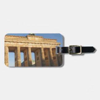 Brandenburger gate luggage tag