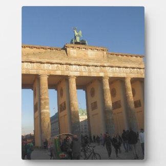 Brandenburger gate plaque