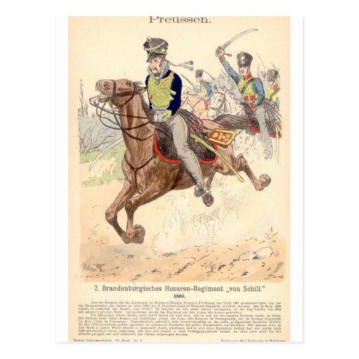 Brandenburger Hussar Postcards