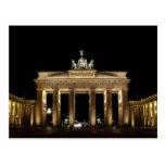 Brandenburger portería tarjeta postal