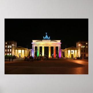 Brandenburger Tor Poster
