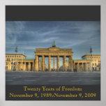 BrandenburgerTOR_16b, veinte años de FreedomNo… Poster