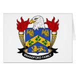 Brandford Family Crest Card